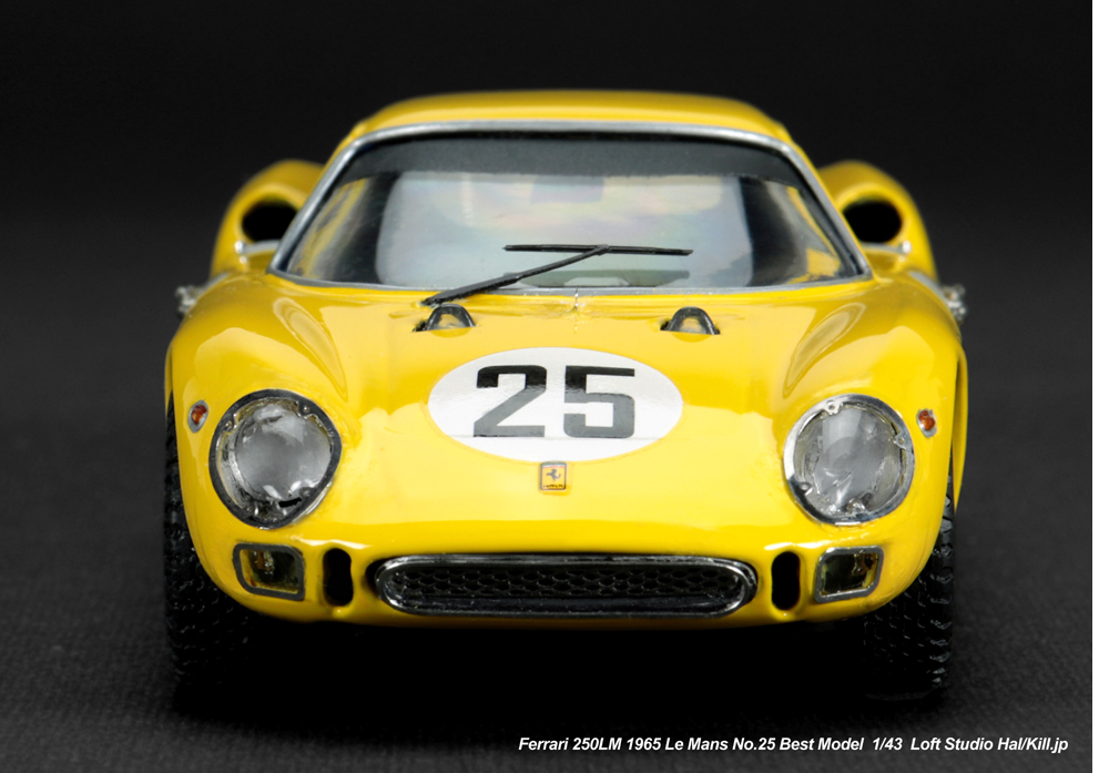 1/43 Ferrari 250LM 1965 Le Mans No.25 Best Model