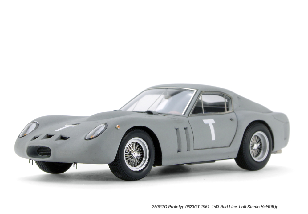 250GTO Prototyp 0523GT 1961  1/43 Red Line