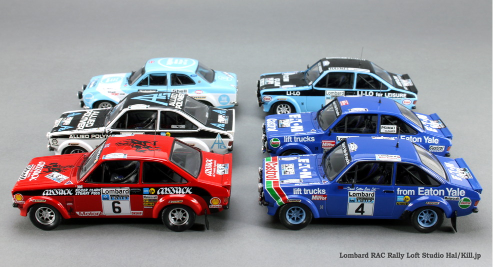 Lombard RAC Rally  Ford Escort RS 1/43