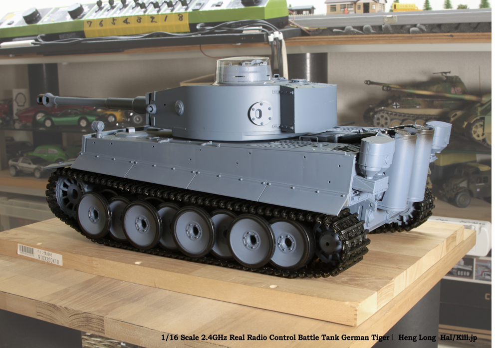 1/16 Scale 2.4GHz Real Radio Control Battle Tank German Tiger�T Heng Long